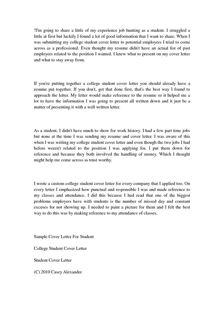 student finance officer administrator cover letter application college teen examples