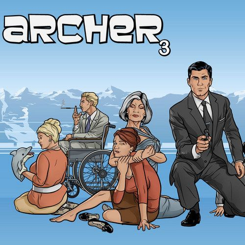 CONTEST: Win Archer: Season Three on DVD -- H. Jon Benjamin and Aisha Tyler lead the hilarious voice cast of this FX animated series about the interpersonal relationships at a spy agency. -- http://wtch.it/hjG0z