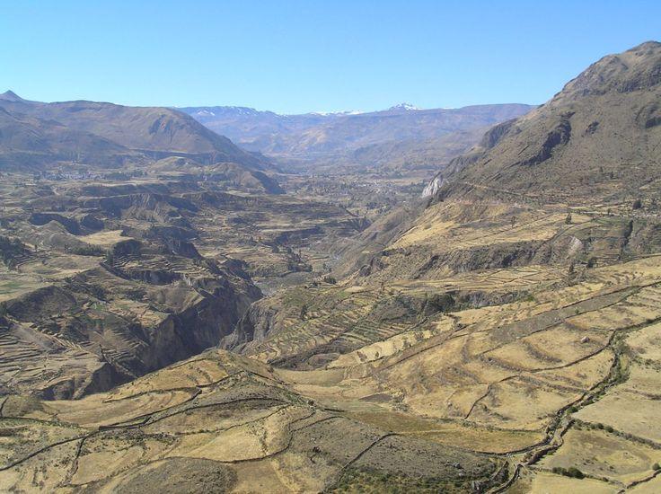 Sights, Colca Canyon, Arequipa, Peru