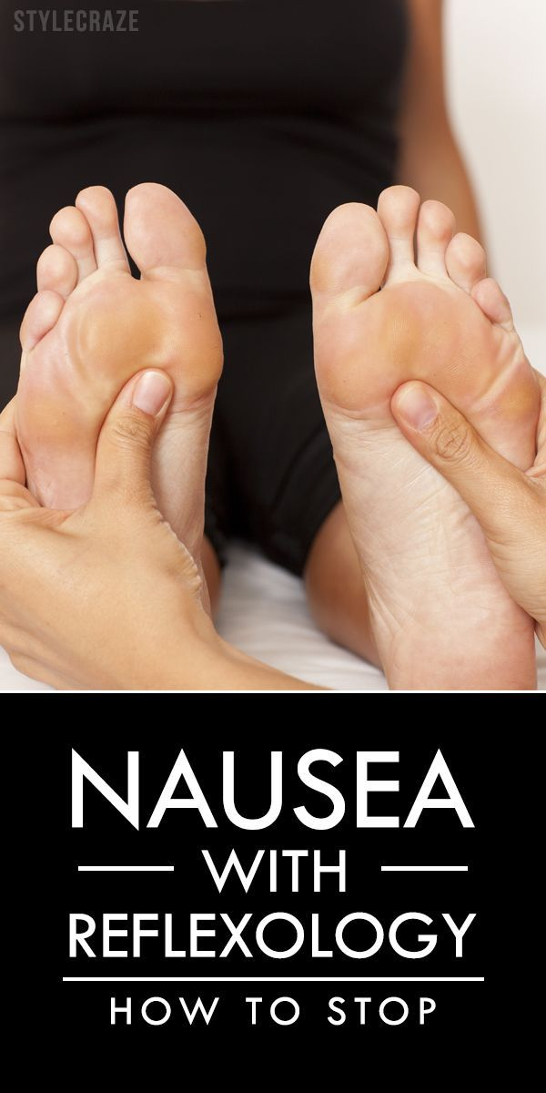 How To Stop Nausea With Reflexology?                                                                                                                                                                                 More