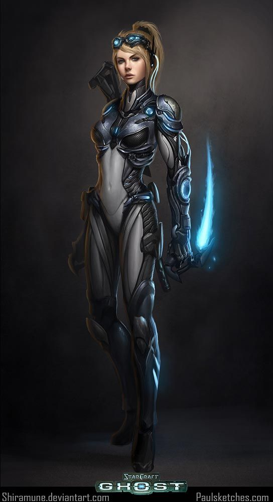 StarCraft: Nova from StarCraft: Ghost (the game that never came to be)