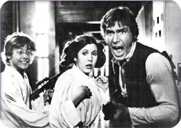 Un acteur de Star Wars dévoile plein de photos inédites ! (image)
