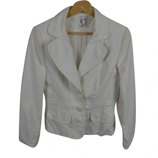 Chaqueta iO 42 Blanco - Abrigos y Chaquetas - Ropa Mujer - Sensacional
