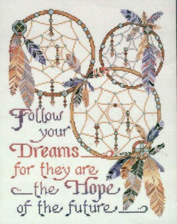 free cross stitch pattern - klick on website ;O) Gallery.ru / Foto Nr. 72 - Stickerei Indianer - Larisa-Möwe