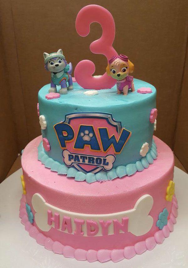 Paw Patrol Kuchen 24   – Essen und Co.