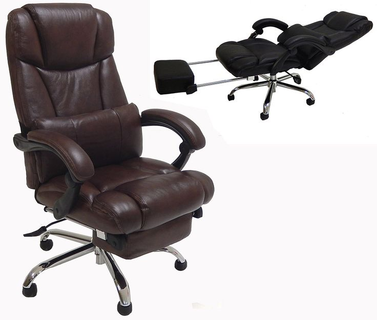 Leather Reclining Office Chair w/ Footrest $499 - Best 25+ Reclining Office Chair Ideas On Pinterest Comfy Chair