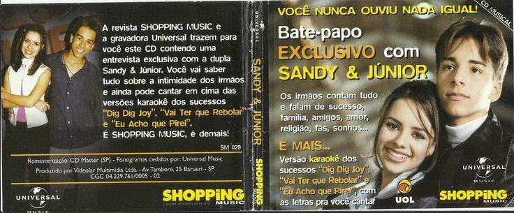 CD Sandy & Junior - uol - Shopping Music