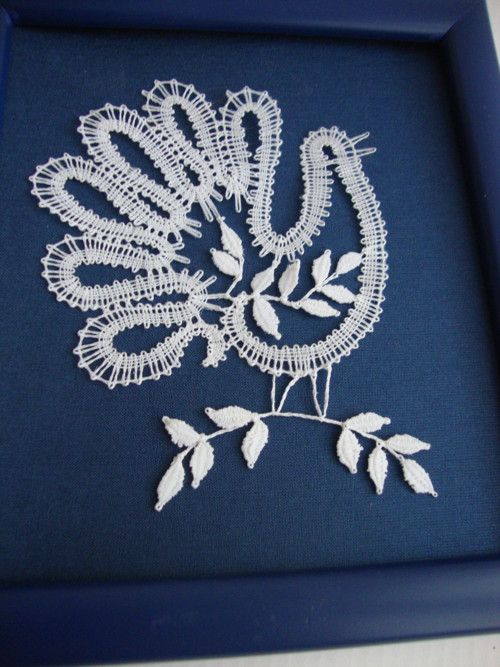 Bílá holubička