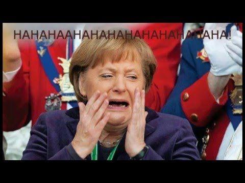 Die eine die immer lacht / Merkel - YouTube