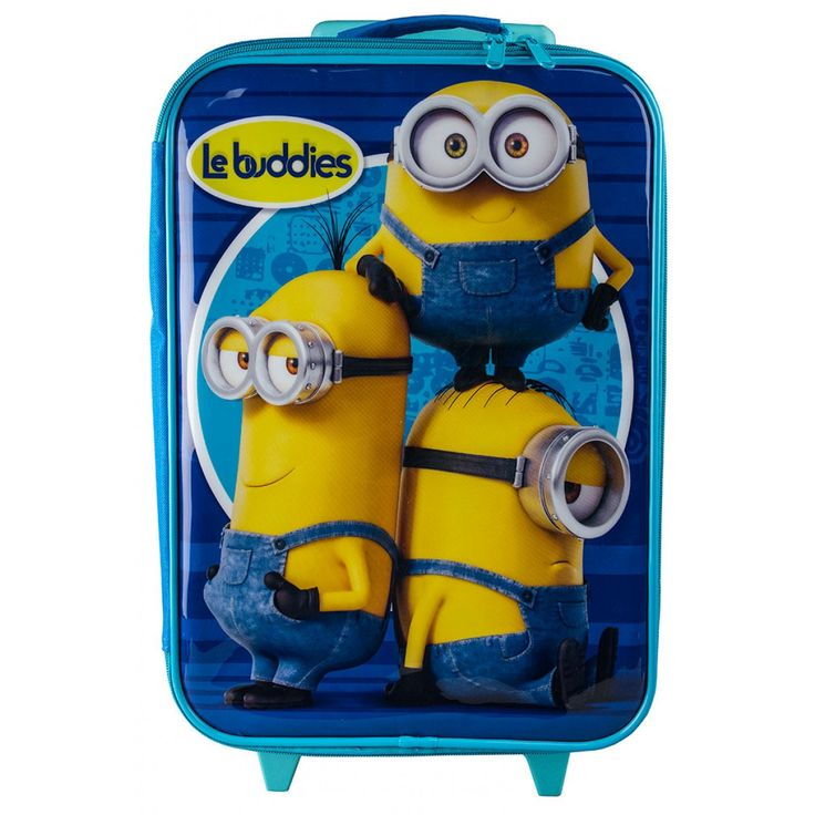Minions Rolling Luggage Case from Funstra Toys