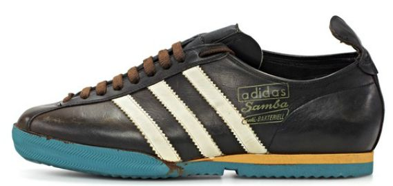 adidas Samba trainers evolution through the years including the adidas samba suede worn by the casuals to the adidas samba super.
