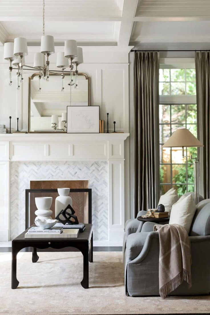 Beautiful home designed with casual yet sophisticated styling in Chicago in 2021   Transitional ...