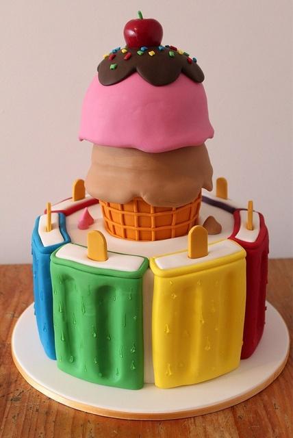 Ice-cream Birthday
