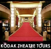 Gotta check out the Kodak Theatre!