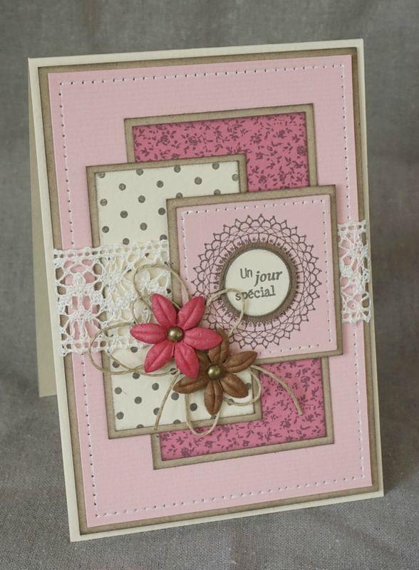 Скрап открытка на день рождения бабушке