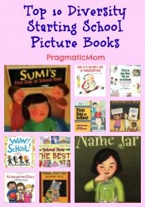 starting school diversity picture books for kids, starting kindergarten multicultural books