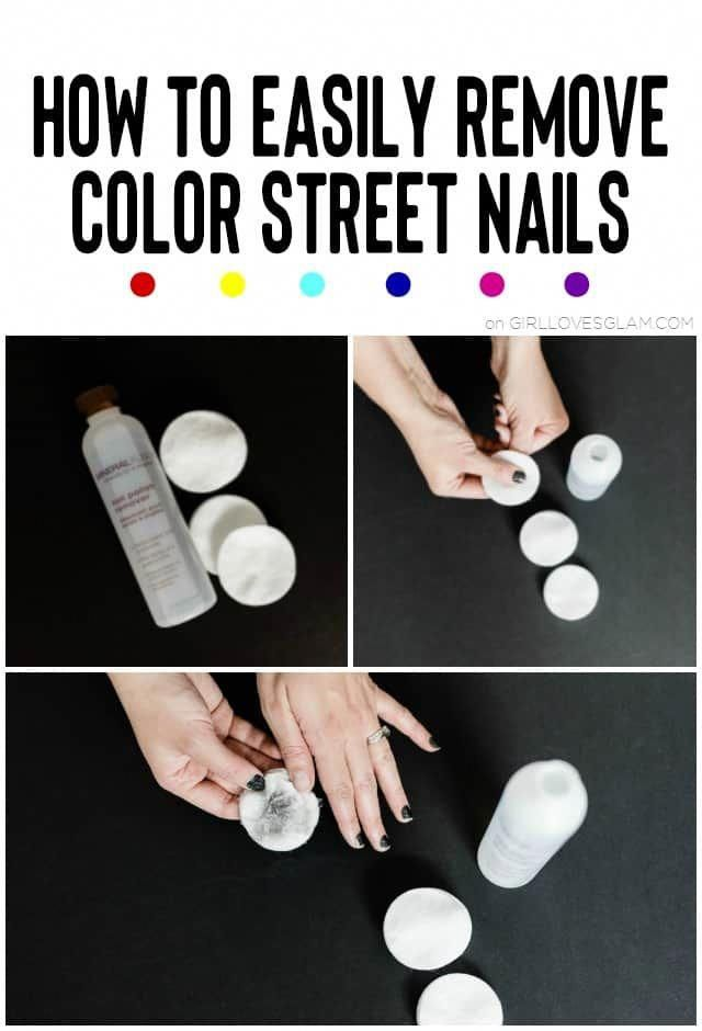 How To Remove Color Street Nails Toenailfungusvinegar Color Street Nails Color Street Nail Polish