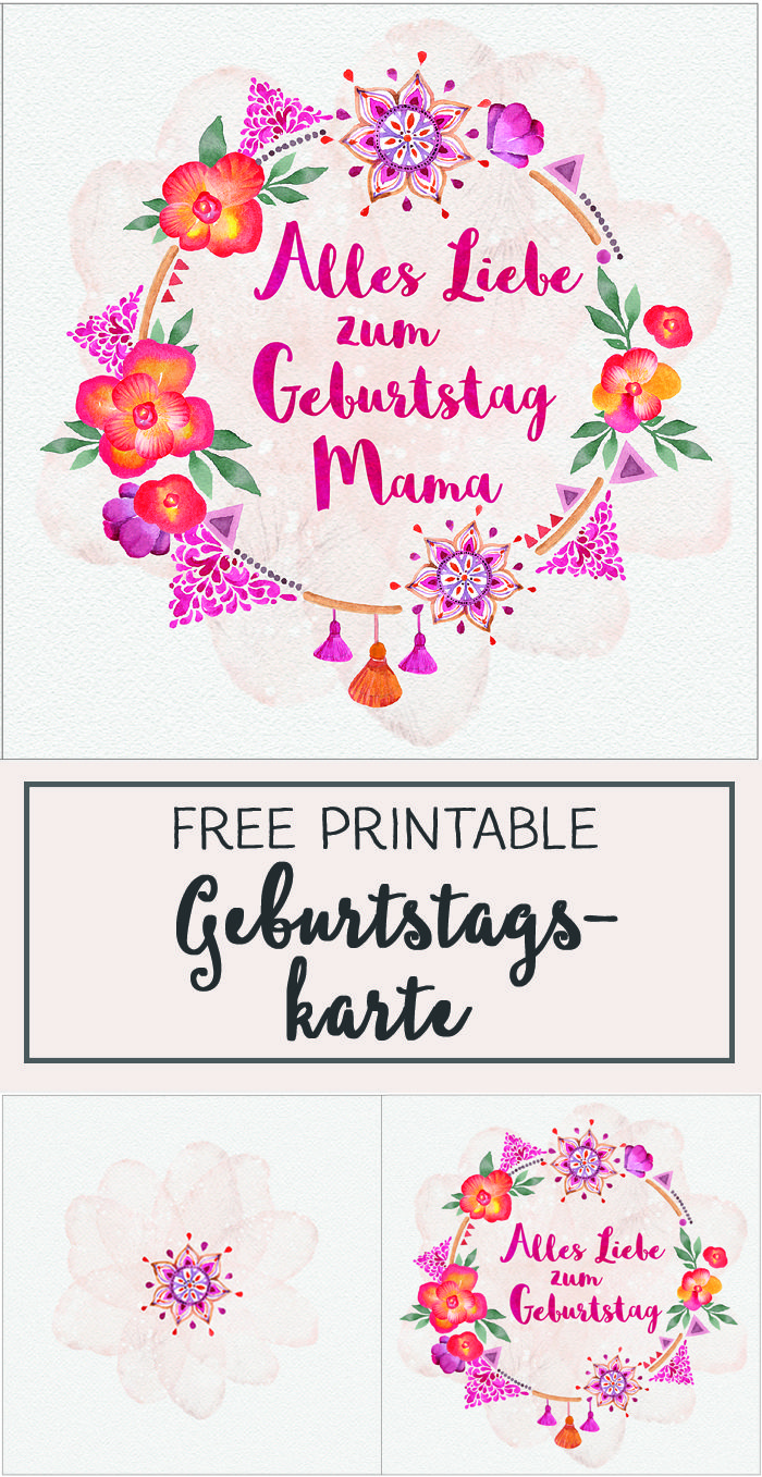 Best 25 geburtstag mama ideas on pinterest mama for Pinterest geburtstagskarte