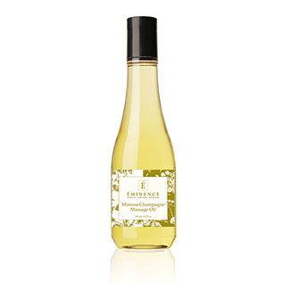 Celebrate Valentine's Day with Champagne Mimosa Massage Oil! Get a healthy complexion and a silky finish!