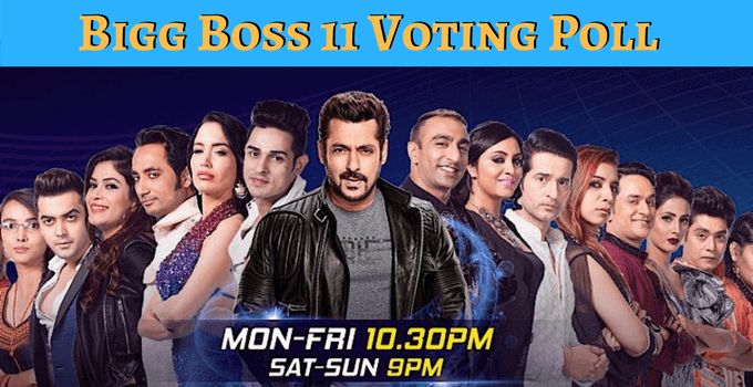 Check Bigg Boss 11 Voting Polls, Bigg Boss 11 Voting Online, Bigg Boss 11 Voting Results, How to vote in Bigg Boss 11 Details, Bigg Boss 2017 Voting trend.