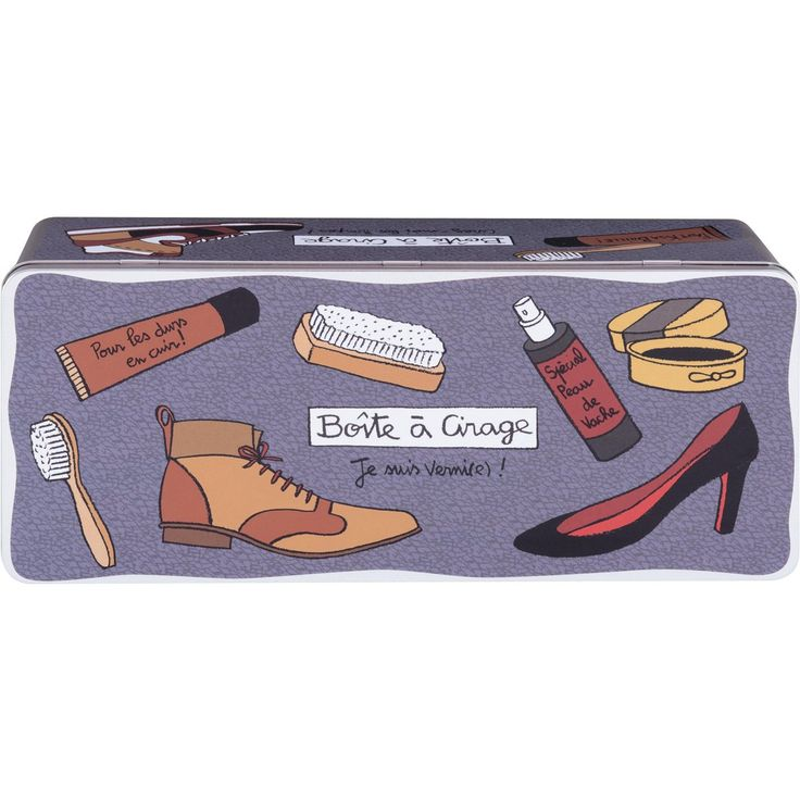 Scatola pulizia scarpe Vernis