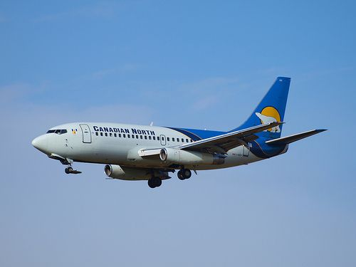Canadian North Airlines Boeing 737-200