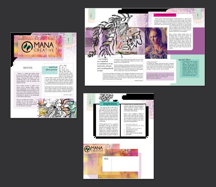25+ best ideas about Newsletter layout on Pinterest