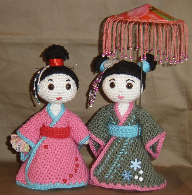 Amigurumi Free Pattern Ravelry : 326 best images about Crochet - Japanese Dolls ! on ...