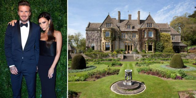 Is This the Beckham Family's New Country Estate?  - HouseBeautiful.com
