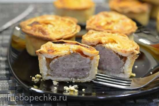 Классические английские свиные мини-пироги