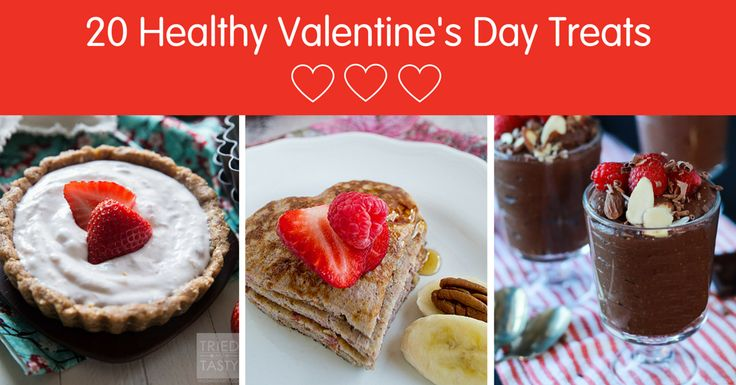 February is a month filled with love – heart-shaped candy, chocolates, and of course, Valentine's Day. It's a holiday filled with sweet treats! February is also American Heart Month, giving families a great opportunity to make sweet treats good for you. Here are 20 of our favorite healthy (and sweet!) Valentine's Day treats from us and blogger friends.