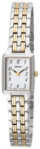Seiko Women`s SXGL61 Dress Two-Tone Watch $73.77