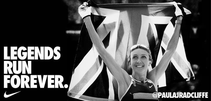 Paula Radcliffe / Unfortunately not competing at London Olympic Marathon