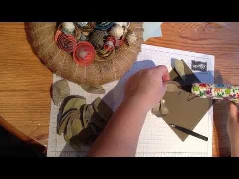 Toblerone-Box mit Miniröschen - Heikes KartenwerkstattHeikes Kartenwerkstatt