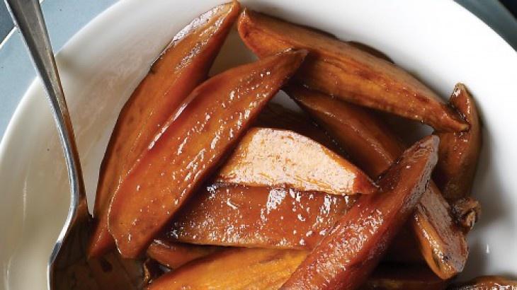 Bourbon Sweet Potatoes | Comfort Food | Pinterest