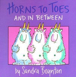 Books by Sandra Boynton are so fun to read...Linnea received some as gifts and I even get excited to read them. :)