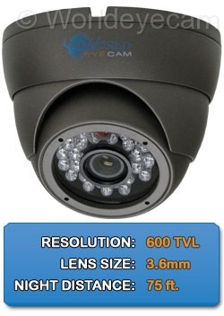 New Page 2 Product Features Lens Type 3 6mm fixed 1 3 Inch Format CCD Sensor Digital Signal Processing 600 Max TV Lines Resolution IP66