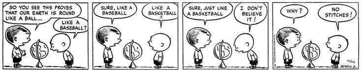 Peanuts Comic Strip, October 27, 1950 on GoComics.com