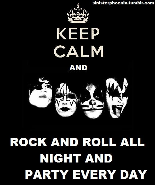 Rock And Roll Quotes: 73 Best Images About KISS On Pinterest