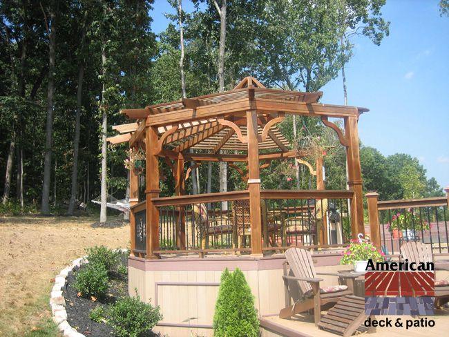 Baltimore Md Open Gazebo Pergola Cedar Cabana