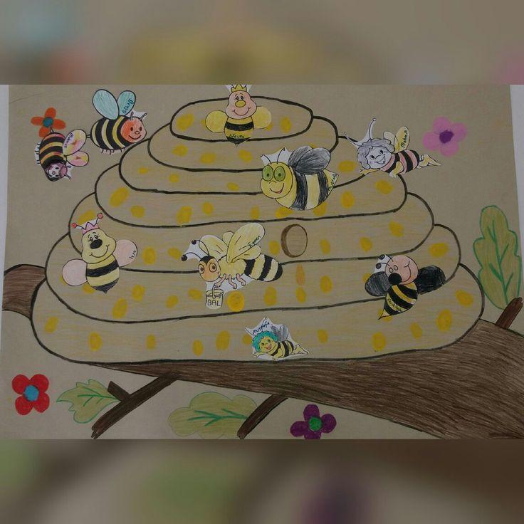 Arı Bal Kovanı Sanat Etkinliği  🐝🐝