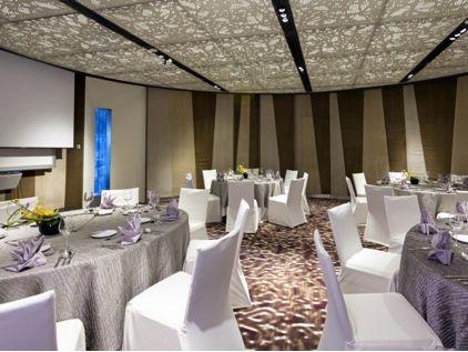 Salão de festas do Hotel Crowne Plaza Changi Airport