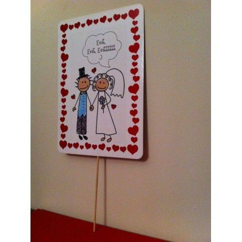 Konuşma Balonu, Nikah - Düğün İçin - Evet Evet Evettttt