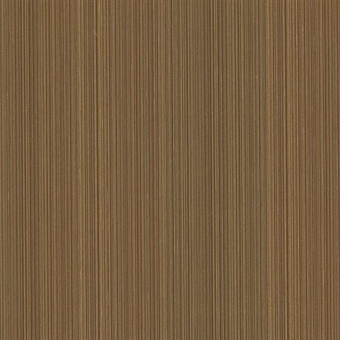 Hari Brown Stripe Wallpaper