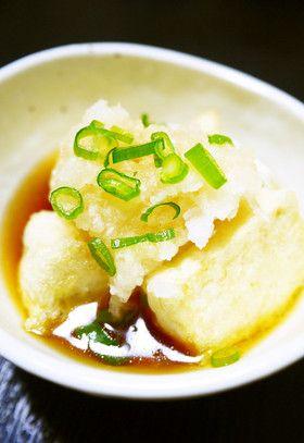 揚げないで作る!木綿豆腐の揚げ出し豆腐風