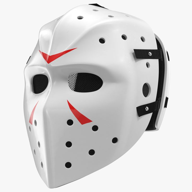 3Dsmax Hockey Mask 2 - 3D Model
