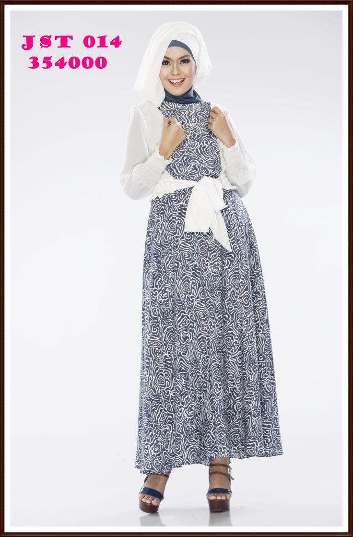 Gamis Cantik dengan Motif Abstrak bisa menjadi pilihan tepat untuk Style mu hari ini