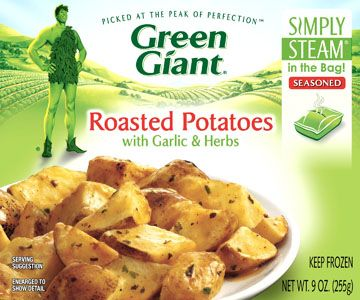 Simply Steam® Roasted Potatoes with Garlic & Herbs (9 oz.) More
