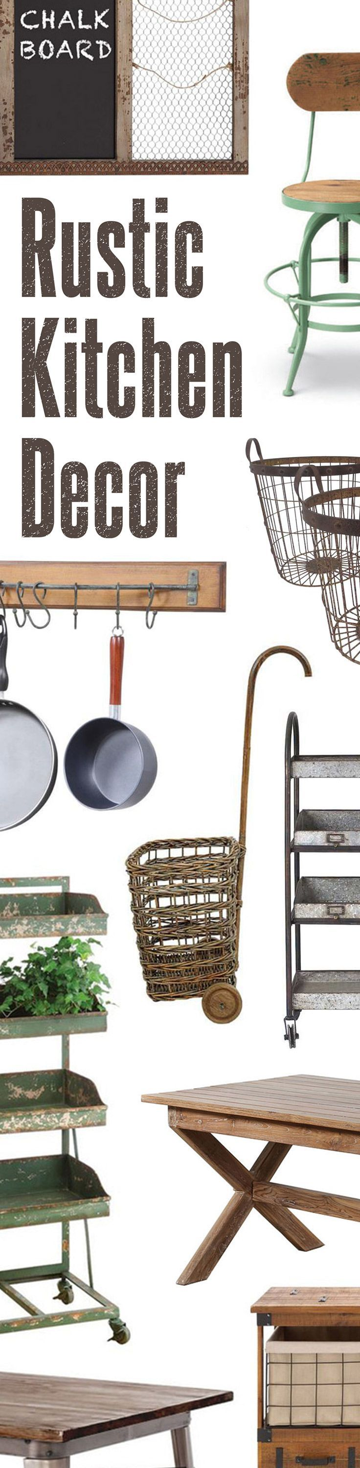 Rustic Kitchen Décor   Up to 60% Off at dotandbo.com