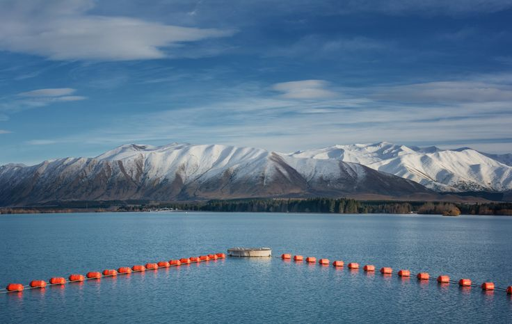 Winter in Twizel - Canterbury, New Zealand